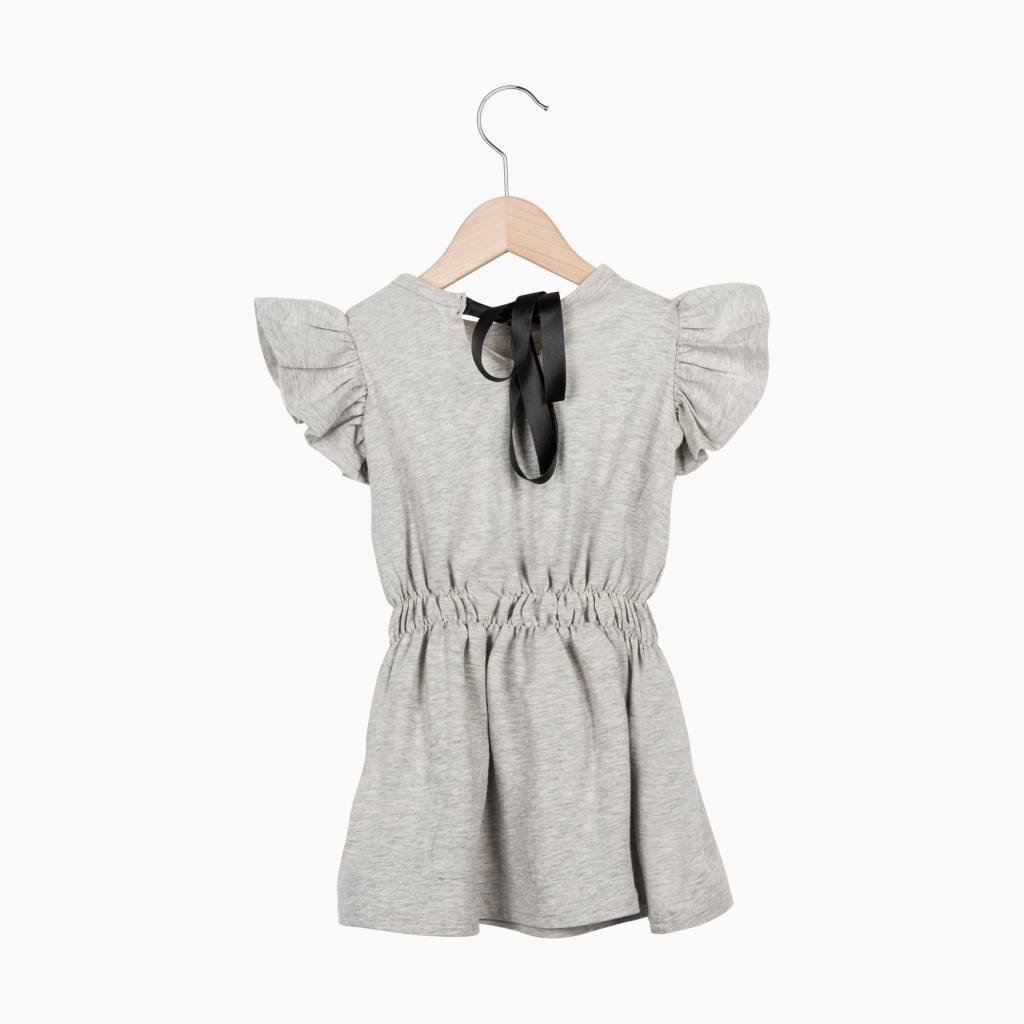 Ruffled Summer Dress - Stone