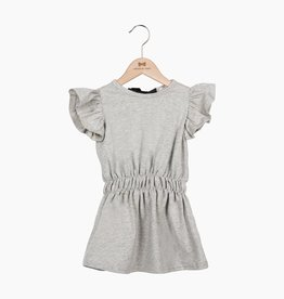 Ruffled Summer Dress - Stone