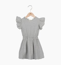 Ruffled Summer Dress - Little Stripes