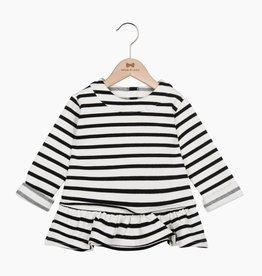 Ruffled Sweater - Breton