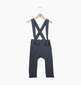 Suspender Pants - Vintage Grey