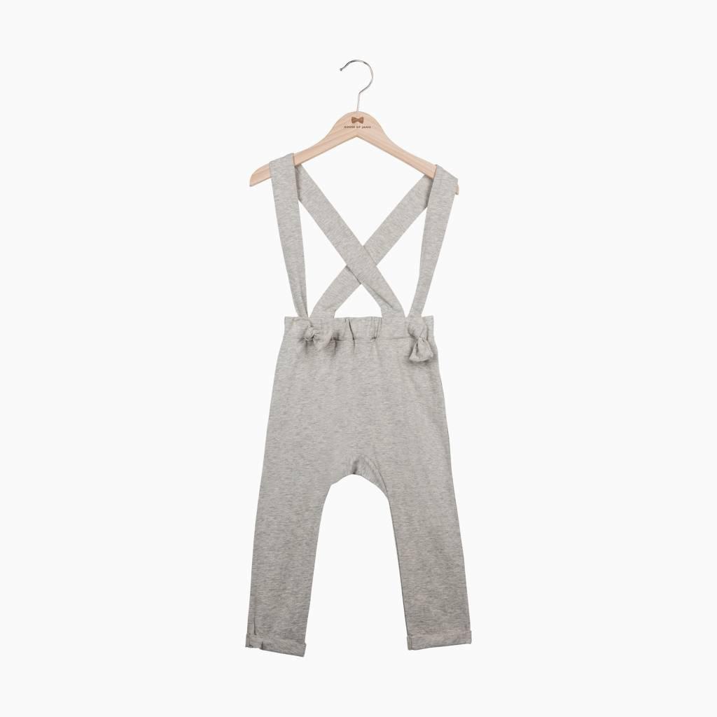 Suspender Pants - Stone