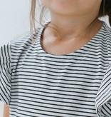 Ruffled Jumpsuit - Little Stripes