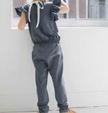 Ruffled Jumpsuit - Vintage Grey (NEW)
