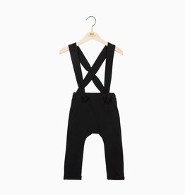 Suspender Pants - Black