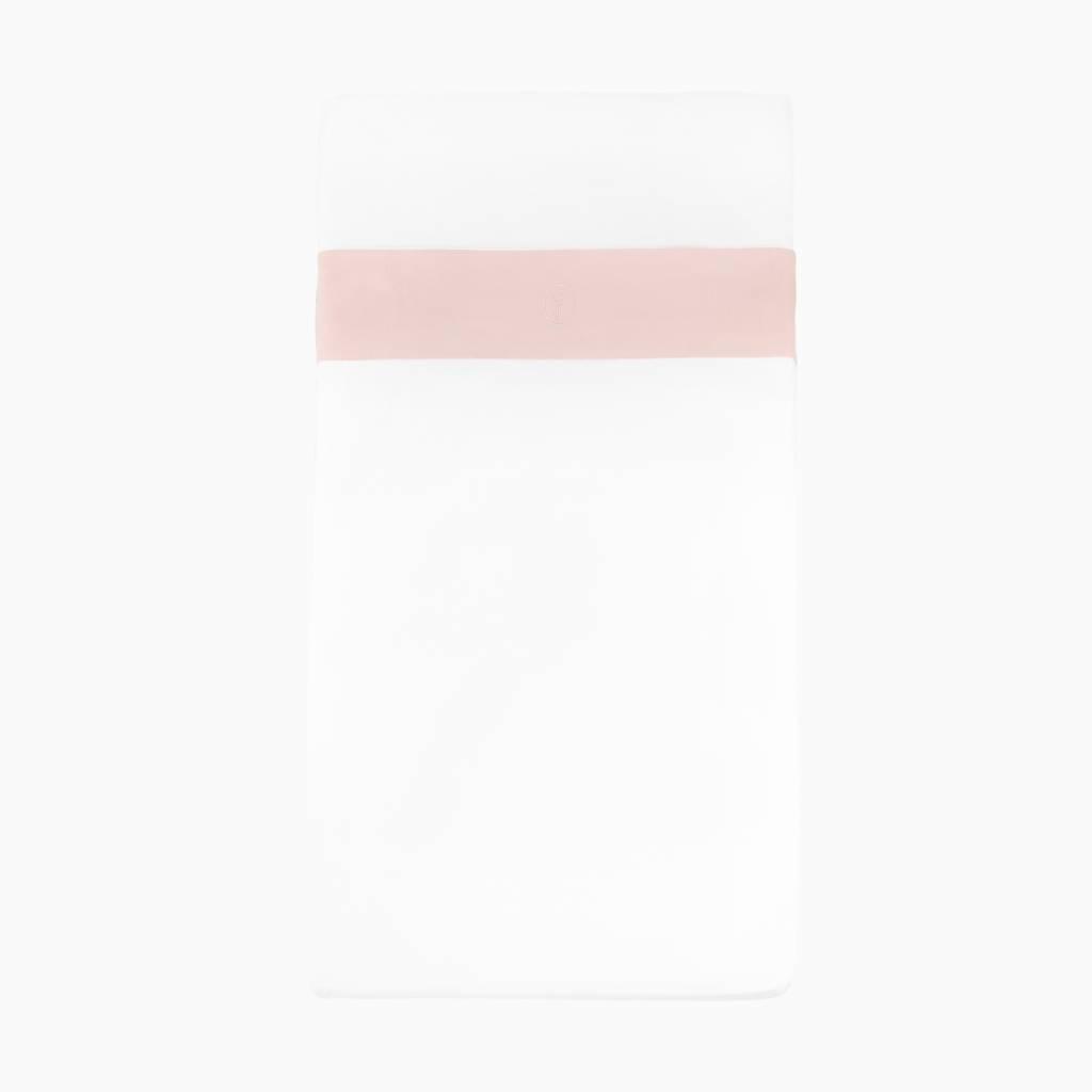 Crib and cot sheet - Powder Pink