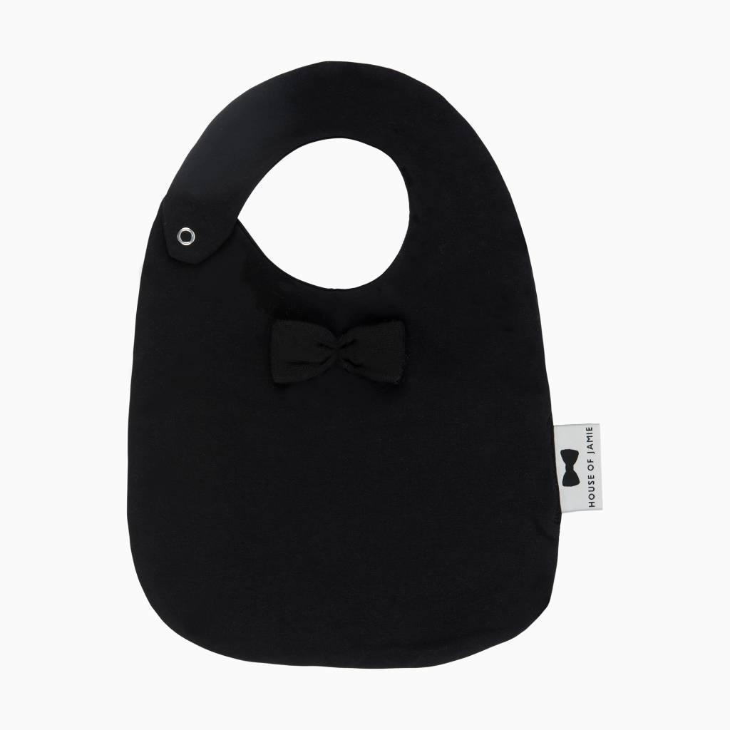 Bow Tie Bib - Black (NEW)