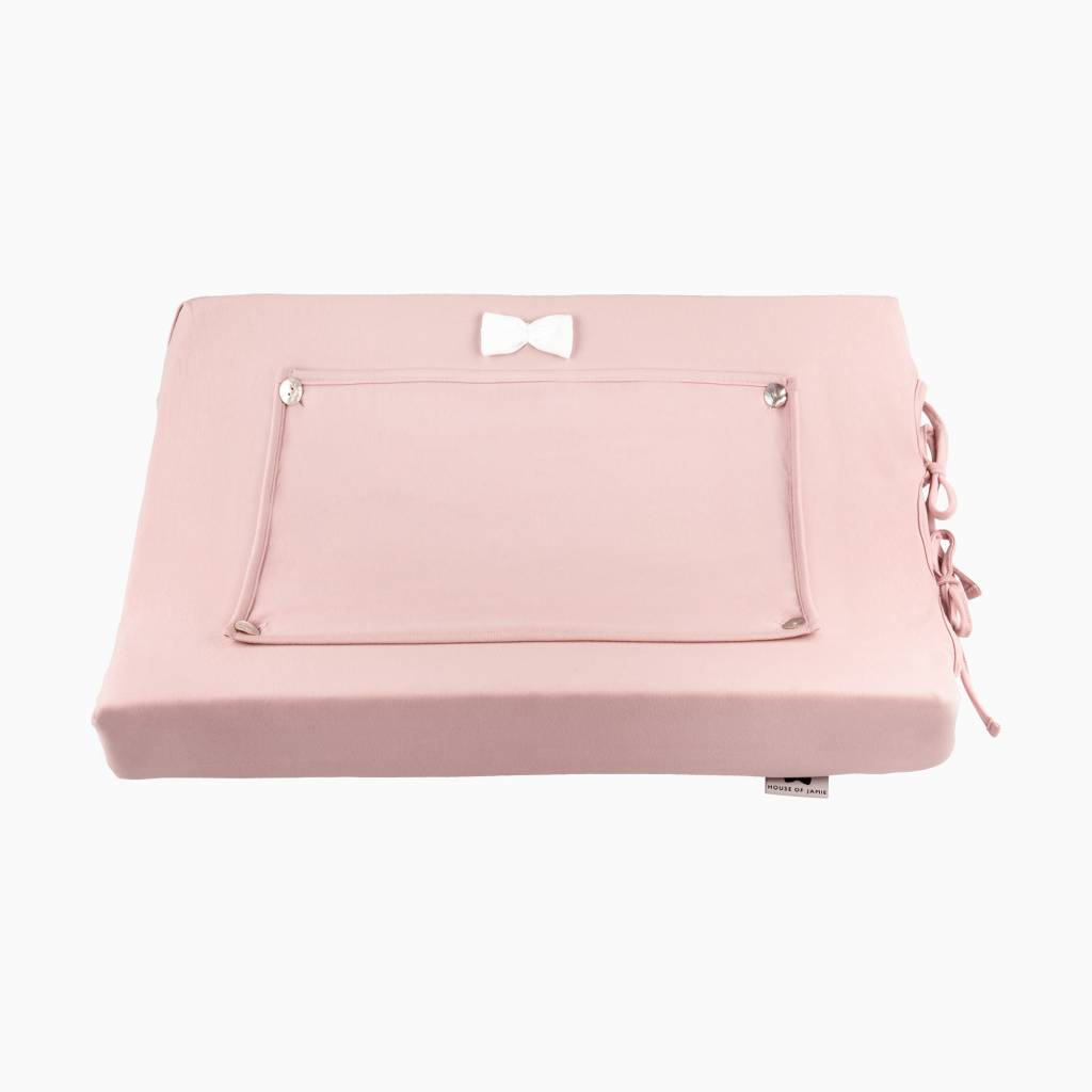 Changing mat cover - Powder Pink