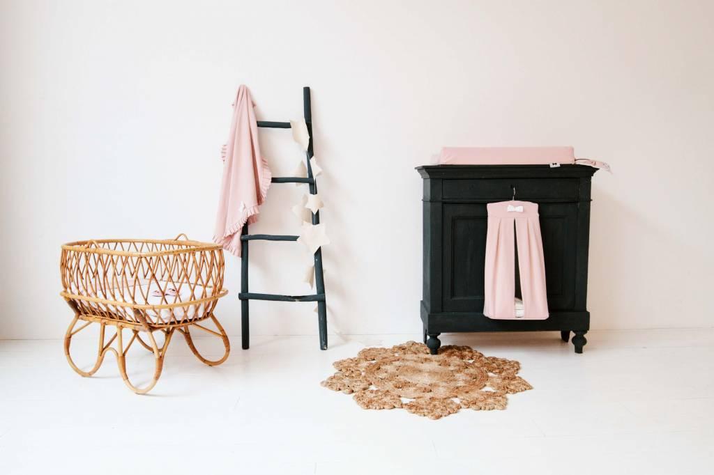 Diaper stacker - Powder Pink + Stone