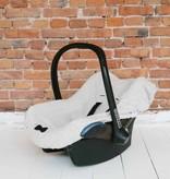 Car Seat Cover - Black & Stone + Black & White