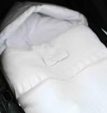 Travel Sleeping Bag - Snow White (linen)