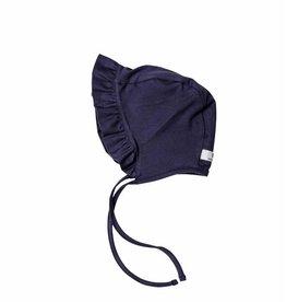 Ruffled Bonnet - Vintage Grey