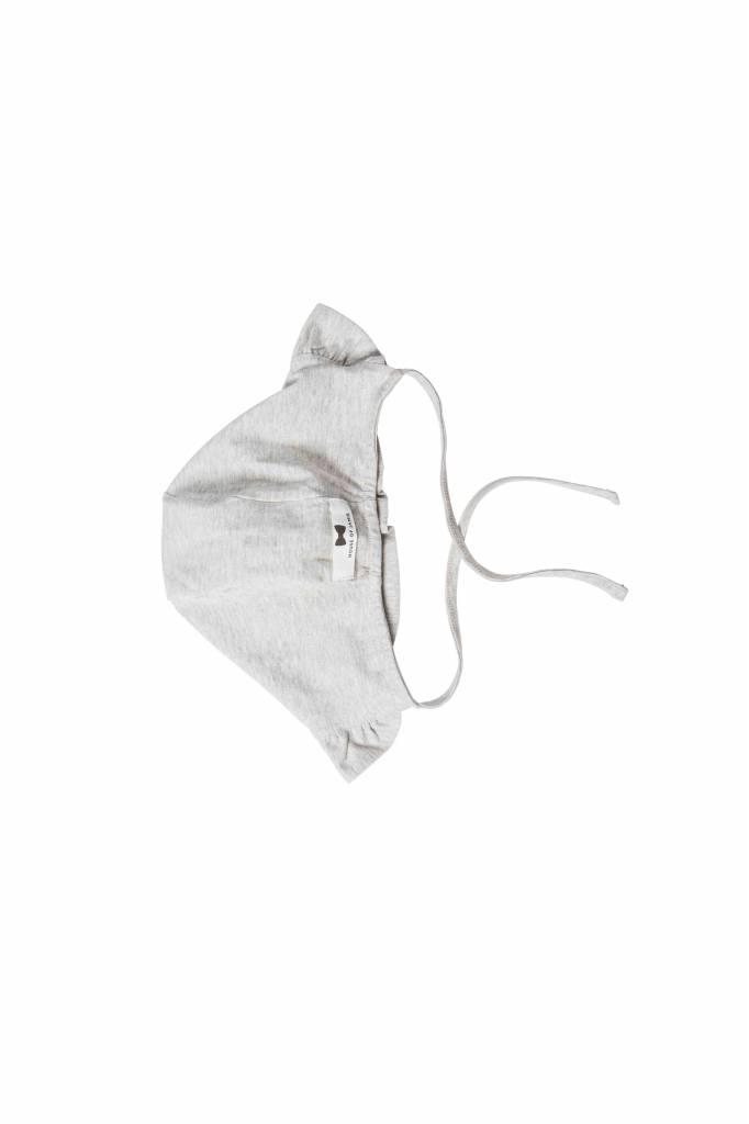 Ruffled Bonnet - Stone (NEW)