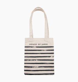 Small Canvas Shopper - Stripes  (NEW)