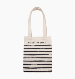 Small Canvas Shopper - Stripes