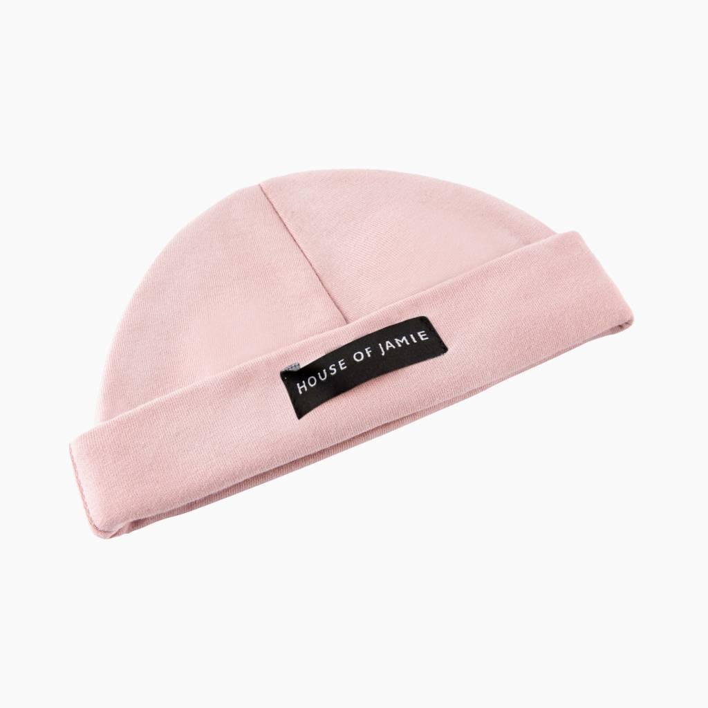 Bow Tie Hat - Powder Pink (NEW)