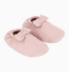Bow Tie Booties - Powder Pink (NEW)