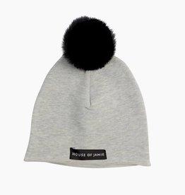 Pom Pom Hat - Stone