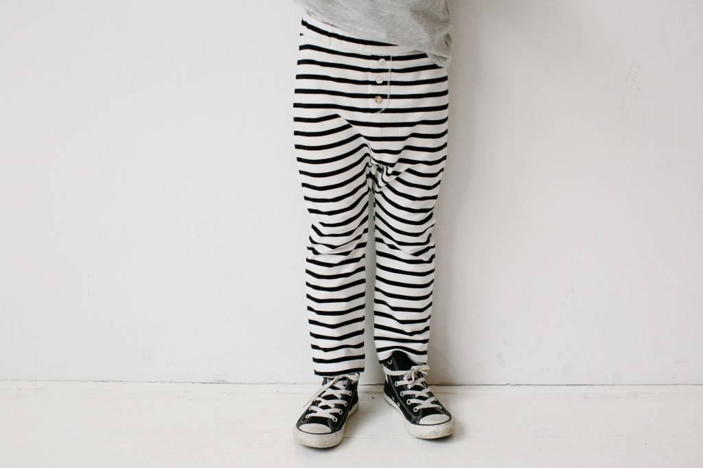 Button Baggy Pants - Breton (NEW)