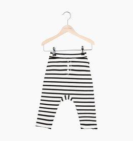 Button Baggy Pants - Breton
