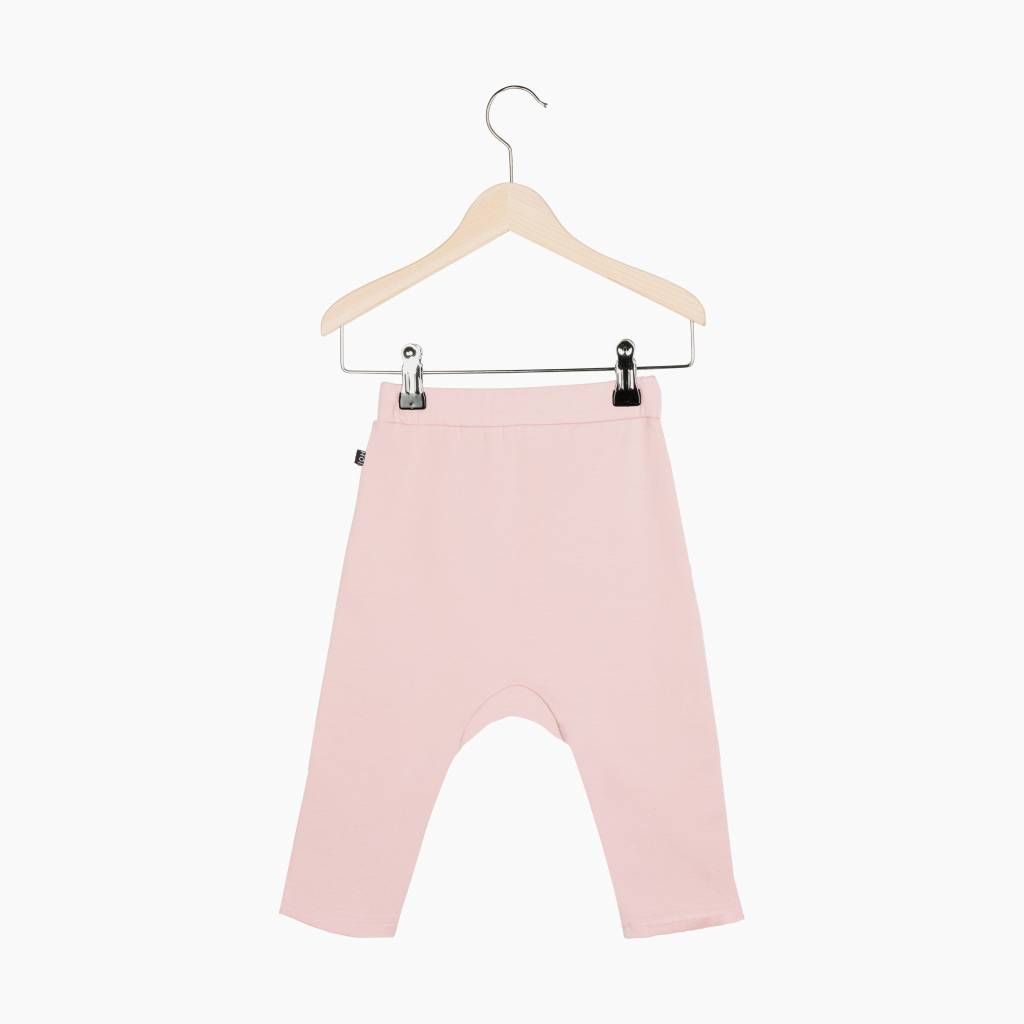 Button Baggy Pants - Powder Pink (NEW)