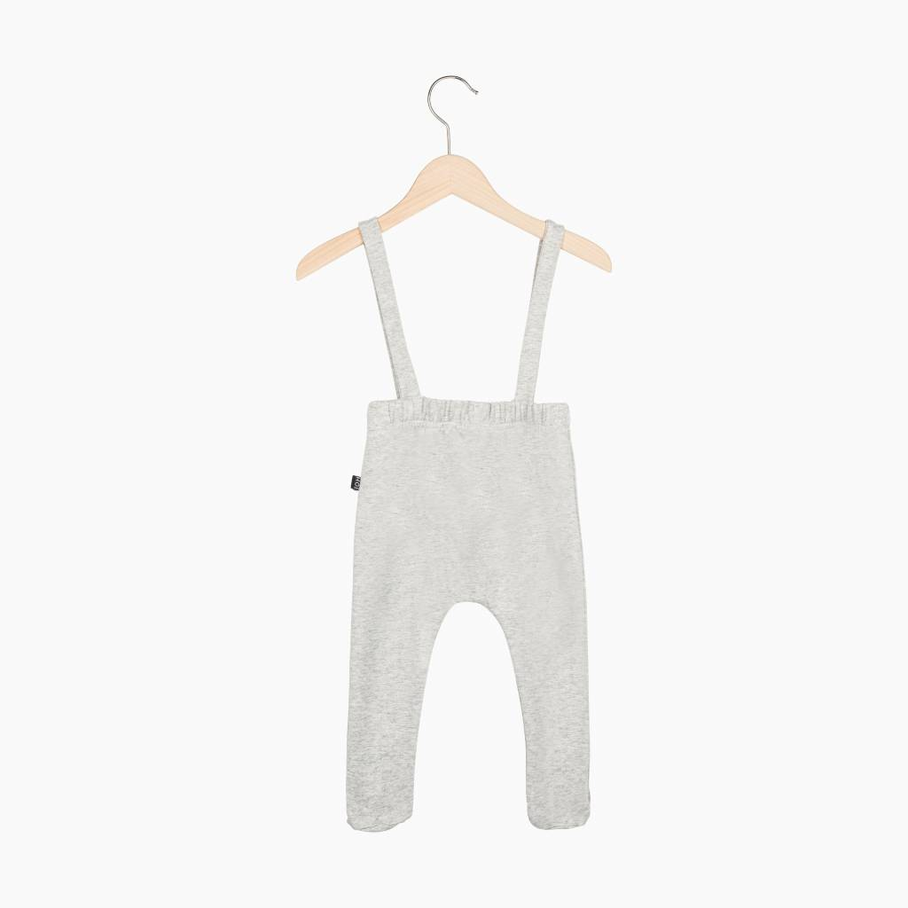 Baby Suspender Pants - Stone (NEW)