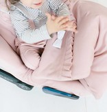 Baby Suspender Pants - Powder Pink (NEW)
