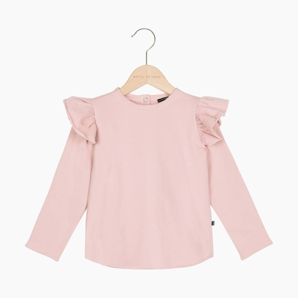 Girls Sweater - Powder Pink