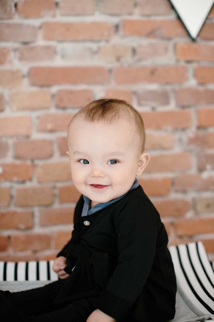 Baby Cardigan - Black (NEW)