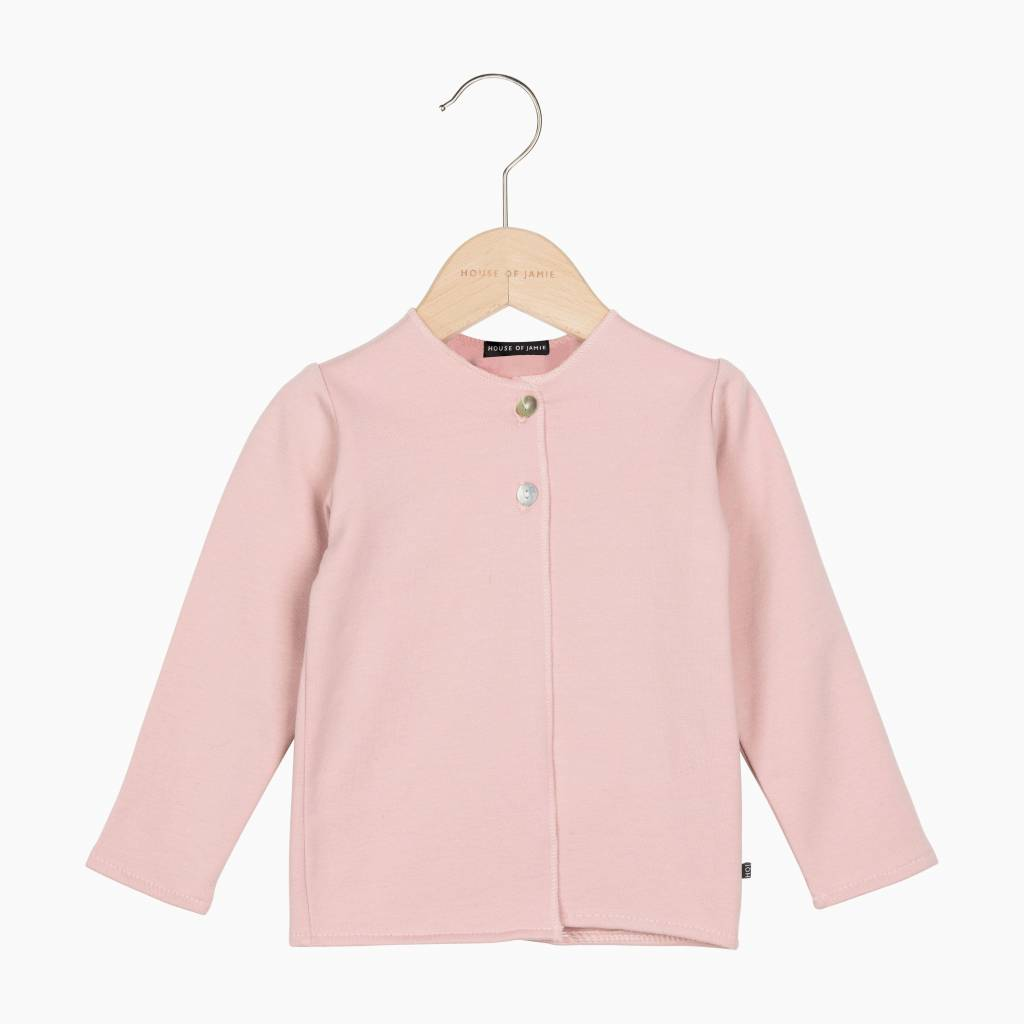 Baby Cardigan - Powder Pink (NEW)