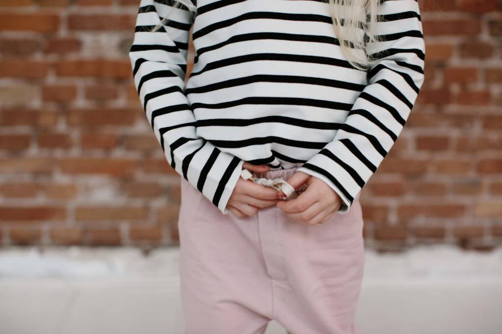 Knee Patch Jogger - Powder Pink (NEW)