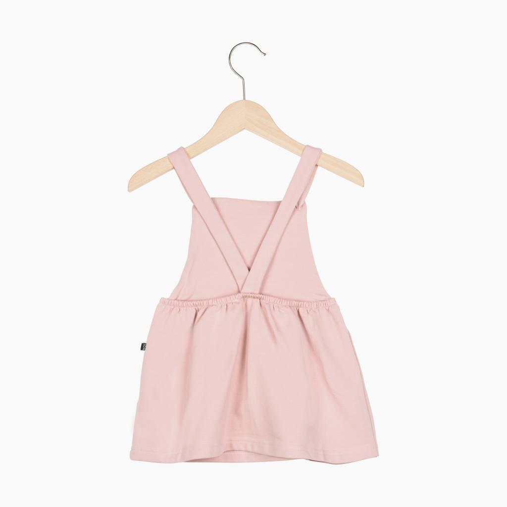 Dungaree Dress - Powder Pink (NEW)