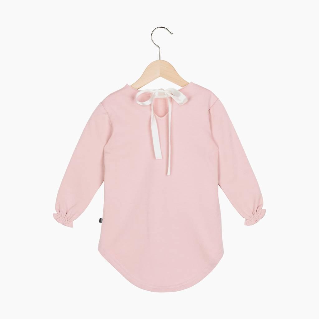 Long Tunic Sweat - Powder Pink (NEW)