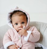 Bow Tie Hooded Jacket - Powder Pink (NEW)