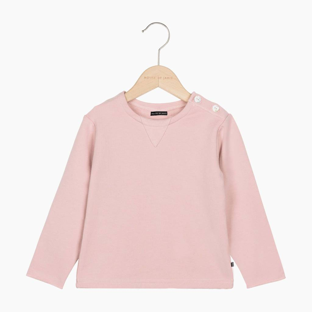 Classic V Sweat - Powder Pink (NEW)