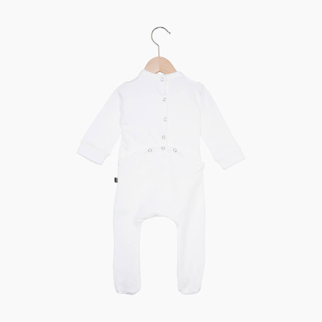 Bow Tie babysuit - Snow White