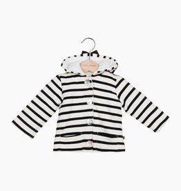Bow Tie Hooded Jacket - Breton