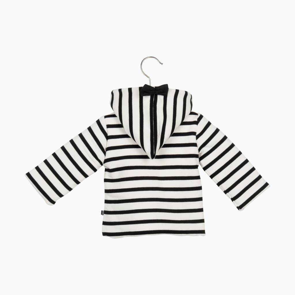Bow Tie Hooded Jacket - Breton
