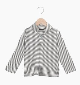 Boys Collar Tee (long sleeve) - Little Stripes