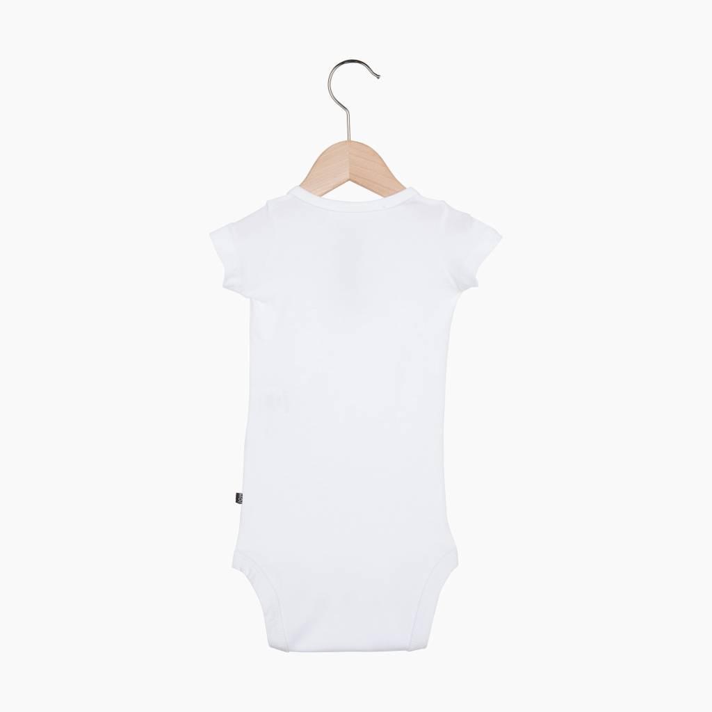 Button Bodysuit -Snow White (NEW)