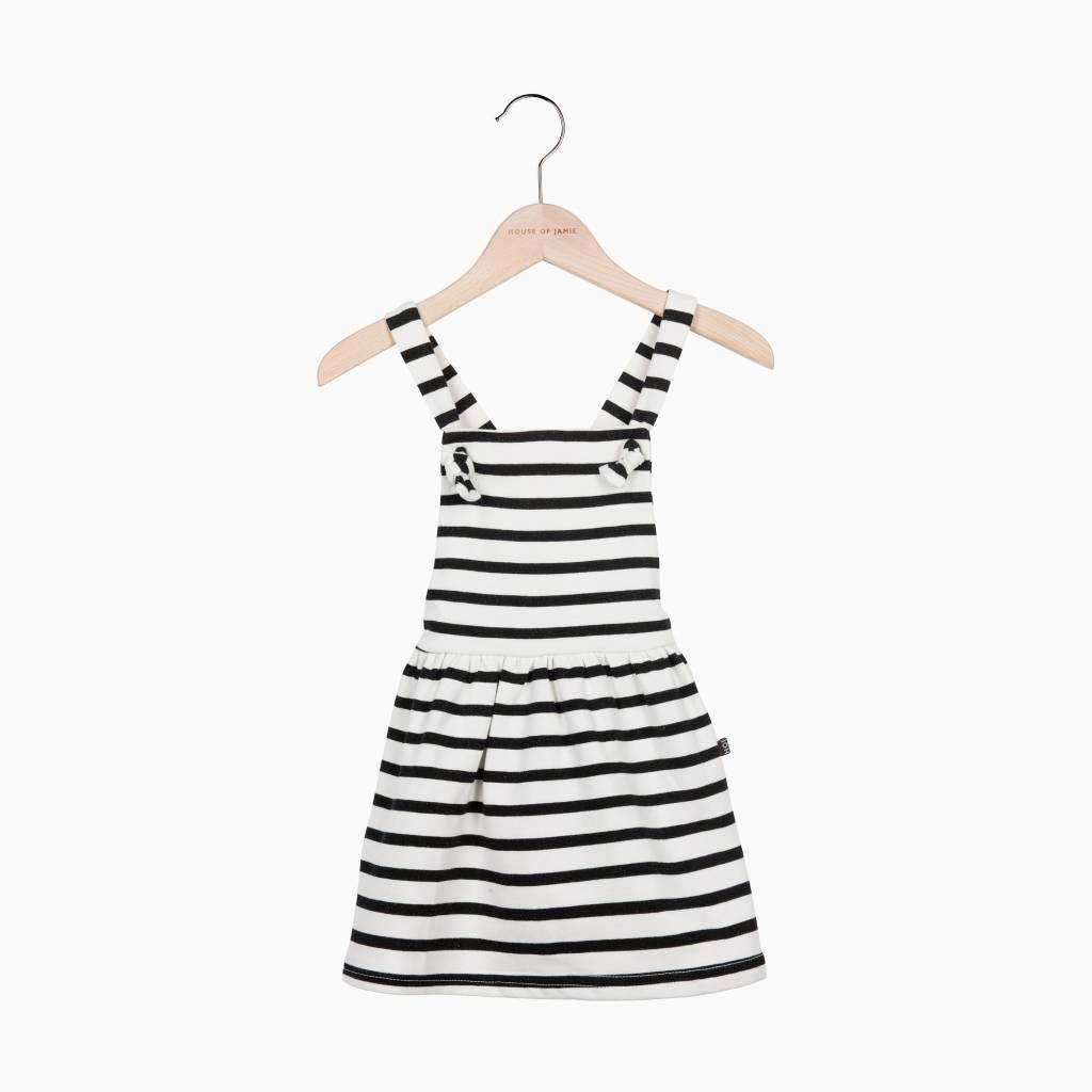 Dungaree Dress - Breton