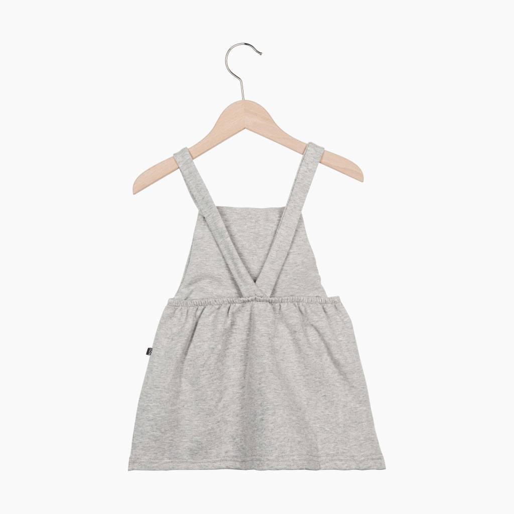Dungaree Dress - Stone