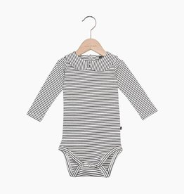 Girls Collar Bodysuit (long sleeve) - Little Stripes