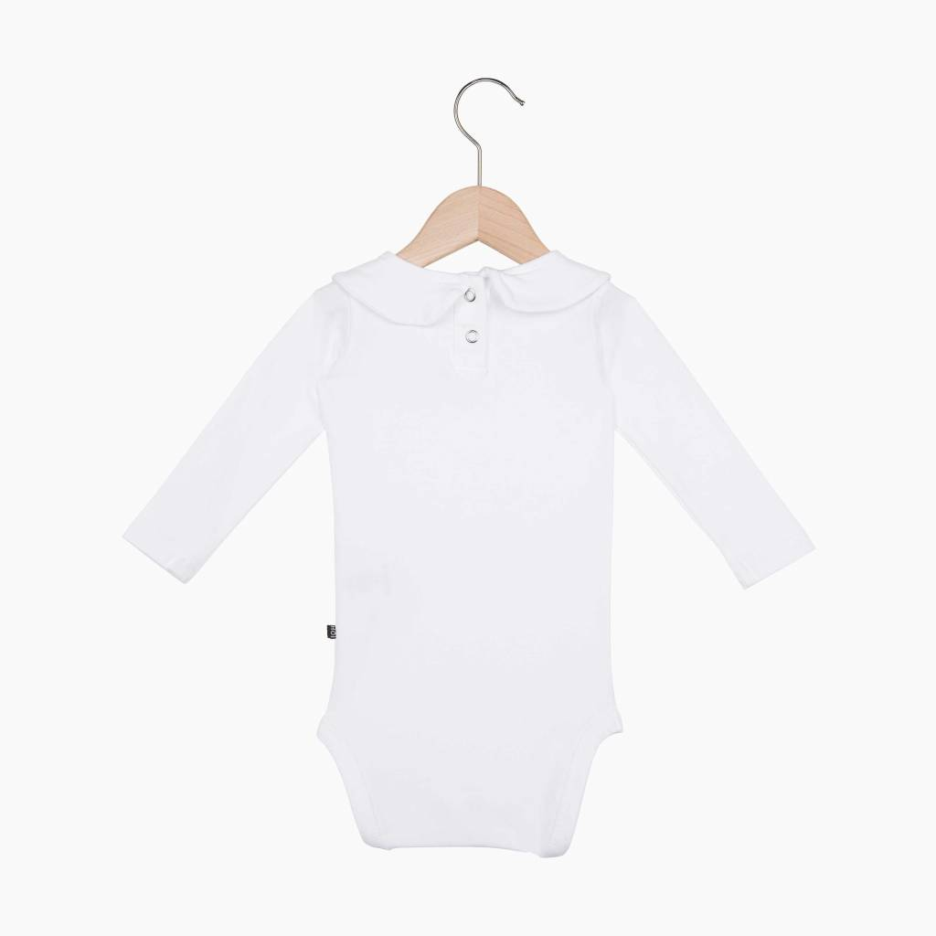 Girls Collar Bodysuit (long sleeve) - Snow White