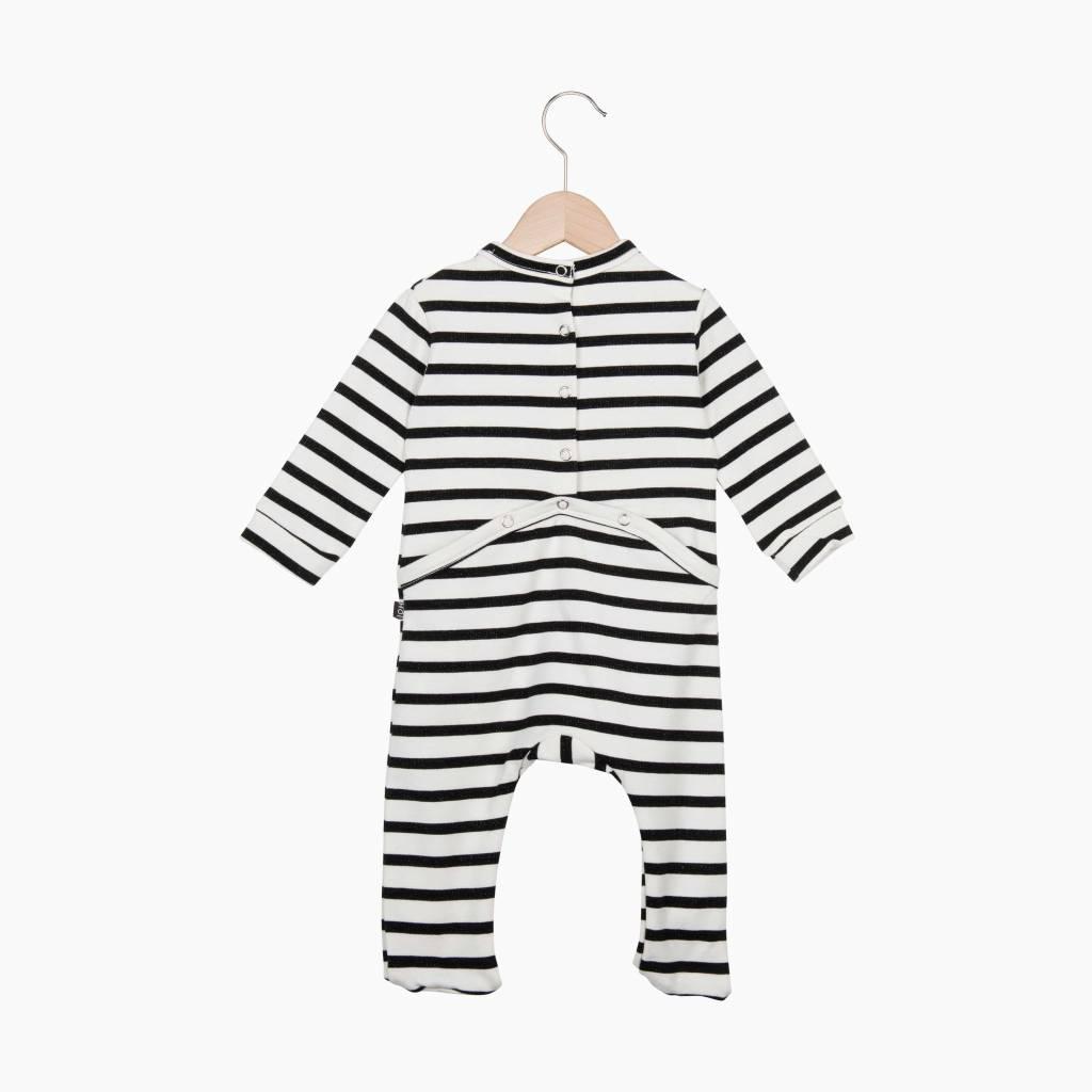 Bow Tie babysuit - Breton