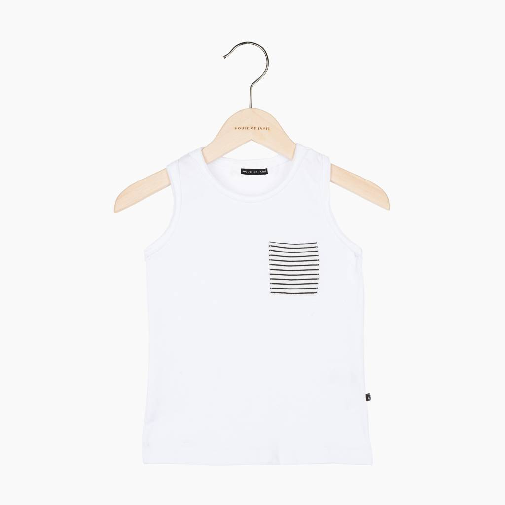 Tanktop - Snow White (striped pocket) (NEW)