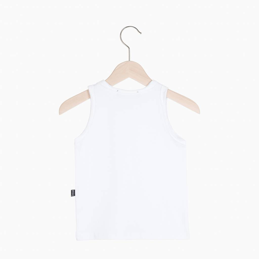 Tanktop - Snow White (striped pocket)