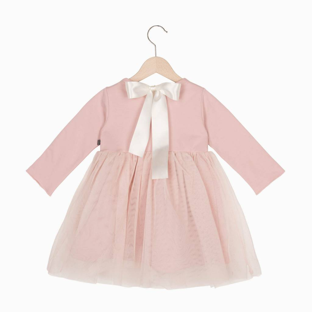 Oversized Tulle Dress - Powder Pink (NEW)