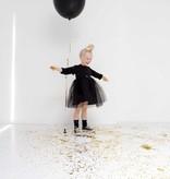Oversized Tulle Dress - Black (NEW)