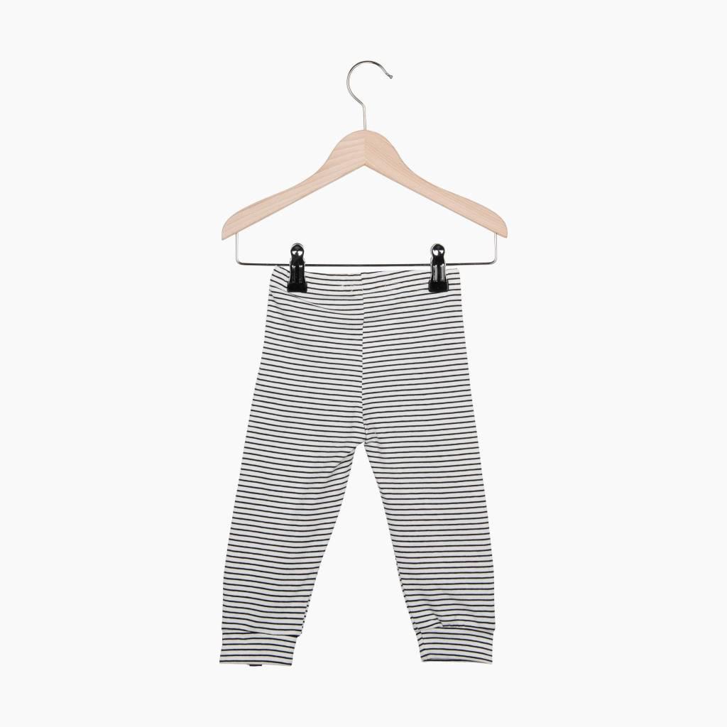 Knee Pad Legging - Little Stripes